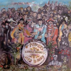 Discos de vinilo: SGT. PEPERS LONELY HEARTS CLUB BAND- TRIBUT BANDES 90'S MALLORCA - BEATLES - CEREBROS EXPRIMIDOS,. Lote 53621387