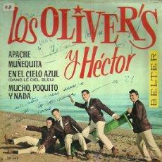 Discos de vinilo: LOS OLIVER´S Y HECTOR EP SELLO BELTER AÑO 1962 EDITADO EN ESPAÑA.. Lote 53624163