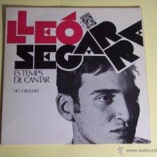 Discos de vinilo: SINGLE LLEÓ SEGARRA (ES TEMPS DE CANTAR / NO OBLIDARÉ) CONCENTRIC-1968. Lote 53633297