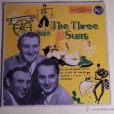 Discos de vinilo: EP THE THREE SUNS (EN UN MERCADO PERSA / EL JEQUE DE ARABIA / + 2) RCA. Lote 53634170