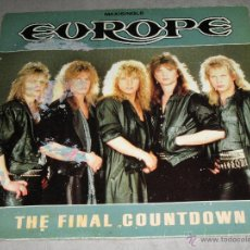 Discos de vinilo: EUROPE - THE FINAL COUNTDOWN - MAXI - EPIC - MADE IN SPAIN -1986 - IB -. Lote 53636251