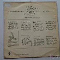Discos de vinilo: CARLOS GARDEL - CAMINITO / LO HAN VISTO CON OTRA / MANO A MANO / LA CUMPARSITA (EP REEDIC. 1973). Lote 53636274