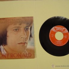 Discos de vinilo: TONY RONALD (I LOVE YOU BABY) MOVIEPLAY, 1971 (VINILO SINGLE) ED. ESPAÑOLA ¡¡COLECCIONISTA!!. Lote 53637676