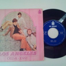 Discos de vinilo: LOS ANGELES * CREEME * JENNY * SINGLE HISPAVOX 1968. Lote 53638949