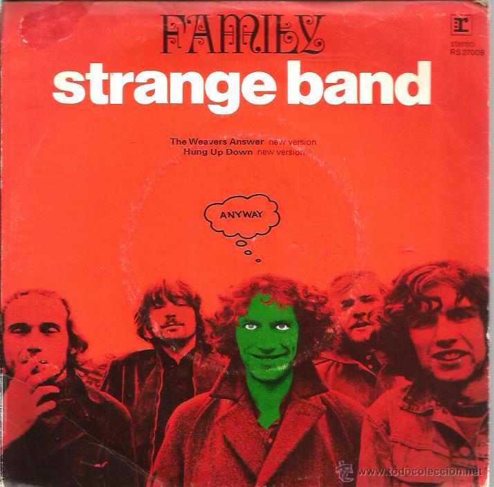 EP FAMILY (STRANGE BAND ) : : THE WEAVERS ANSWER + 3 (Música - Discos de Vinilo - EPs - Pop - Rock Internacional de los 70)