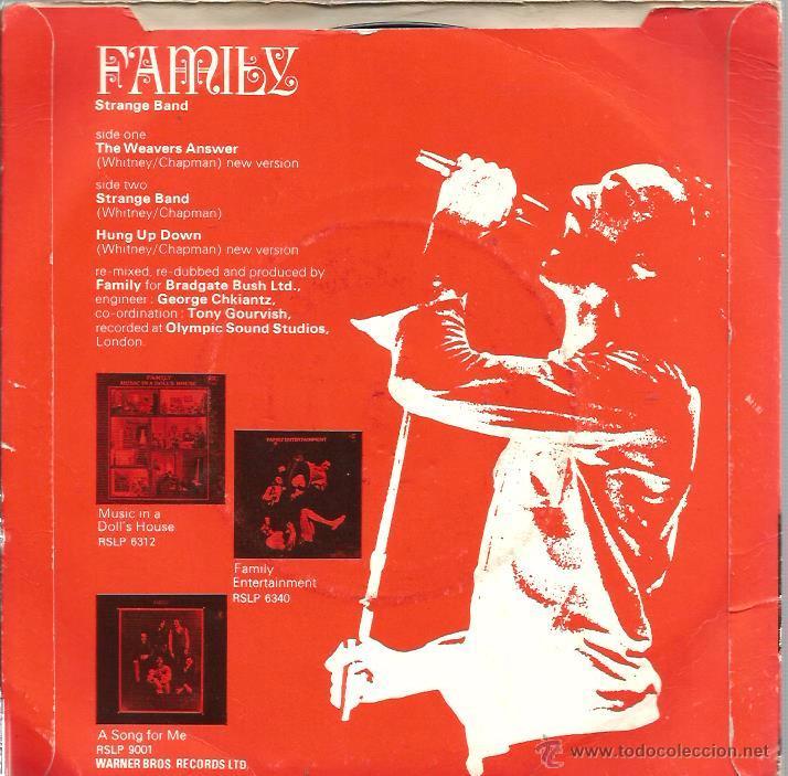 Discos de vinilo: EP FAMILY (STRANGE BAND ) : : THE WEAVERS ANSWER + 3 - Foto 2 - 53639094