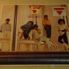 Discos de vinilo: FIVE STAR ( SILK AND STEEL ) 1986 - GERMANY LP33 RCA. Lote 53639252