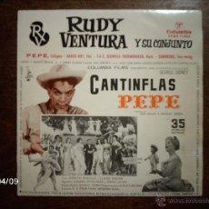 Discos de vinilo: RUDY VENTURA Y SU CONJUNTO - PEPE + 3. Lote 53639406