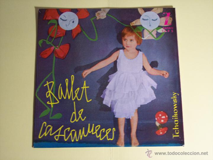 EP BALLET DE CASCANUECES (TCHAIKOWSKY) ZAFIRO-1959 (Música - Discos de Vinilo - EPs - Clásica, Ópera, Zarzuela y Marchas)