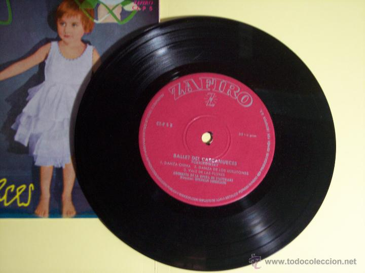 Discos de vinilo: EP BALLET DE CASCANUECES (TCHAIKOWSKY) ZAFIRO-1959 - Foto 2 - 53639813