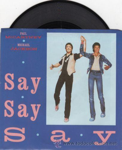 PAUL MCCARTNEY & MICHAEL JACKSON - SAY SAY SAY + INEDITO 83 !! RARO MAXI ( 3 TEMAS ) ORG EDIT USA,EX (Música - Discos de Vinilo - Maxi Singles - Pop - Rock Extranjero de los 70)