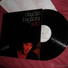 Discos de vinilo: CLAUDIO BAGLIONI EN ESPAÑOL LP SOLO 1977 RCA PROMOCIONAL CON ENCARTE. Lote 53644876