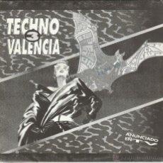 Discos de vinilo: TECHNO VALENCIA 3 - MEGAMIX (SINGLE PROMOCIONAL 1 CARA 1993). Lote 53645849