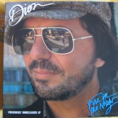 Discos de vinilo: LP - DION - FIRE IN THE NIGHT (GERMANY, ACE RECORDS 1990). Lote 53646197