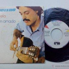 Discos de vinilo: TOQUINHO * ACUARELA * O BEM AMADO * SINGLE 1983. Lote 53650093