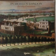 Discos de vinilo: PURCELL'S LONDON - THE PARLEY OF INSTRUMENTS. PRESS GERMANY. Lote 53651623