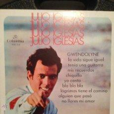 Discos de vinilo: DISCO VINILO JULIO IGLESIAS GWENDOLYNE. Lote 186812582