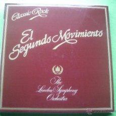 Discos de vinilo: CLASSIC ROCK EL SEGUNDO MOVIMIENTO LP THE ROYAL SYMPHONY O. NUEVO¡¡¡ PEPETO. Lote 53652084