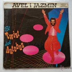 Discos de vinilo: CLAVEL I JAZMIN (PACO CLAVEL) - EL TWIST DEL AUTOBUS / REINA POR UN DIA (1981). Lote 53654574