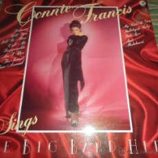 Discos de vinilo: CONNIE FRANCIS SINGS THE BIG BAND HITS LP - ORIGINAL INGLES - MGM RECORDS 1977 - STEREO -. Lote 53655988
