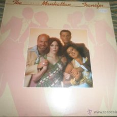 Discos de vinilo: THE MANHATTAN TRANSFER - COMING OUT LP - ORIGINAL INGLES - ATLANTIC 1976 CON FUNDA INT. ORIGINAL -. Lote 53656347