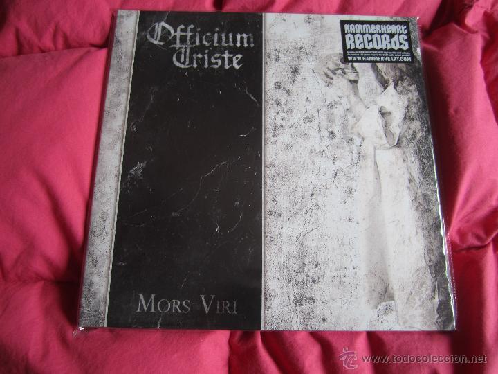 OFFICIUM TRISTE - MORS VIRI 12'' LP GATEFOLD NUEVO - DEATH METAL DOOM METAL (Música - Discos - LP Vinilo - Heavy - Metal)