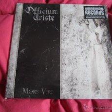Discos de vinilo: OFFICIUM TRISTE - MORS VIRI 12'' LP GATEFOLD NUEVO - DEATH METAL DOOM METAL. Lote 53657198