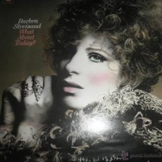 Discos de vinilo: BARBRA STREISAND - WHAT ABOUT TODAY? LP - ORIGINAL U.S.A. - COLUMBIA RECORDS 1969 - STEREO -. Lote 53657885