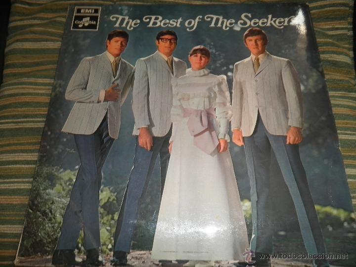 THE SEEKERS - THE BEST OF THE SEEKERS LP - EDICION INGLESA -EMI / COLUMBIA RECORDS 1968 - STEREO - (Música - Discos - LP Vinilo - Pop - Rock Extranjero de los 50 y 60)