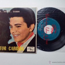 Discos de vinilo: HECTOR CABRERA * BAMBINA * PRESENTIMIENTO * COLOMBIANITA * CUANDO CUANDO * EP CUBALEGRE 1962. Lote 53660596