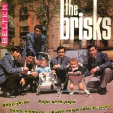 Discos de vinilo: EP THE BRISKS : PEPE SERA PAPA + NADIE RESPONDIO ( THE BEATLES ) + 2. Lote 118998707
