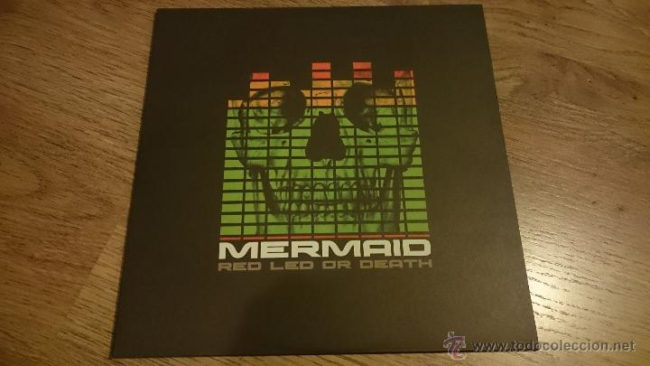 MERMAID RED LED OR DEATH LP DISCO DE VINILO MUNSTER RECORDS (Música - Discos - LP Vinilo - Grupos Españoles de los 90 a la actualidad)