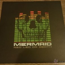 Discos de vinilo: MERMAID RED LED OR DEATH LP DISCO DE VINILO MUNSTER RECORDS . Lote 53669114