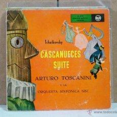 Discos de vinilo: TCHAIKOVSKY - CASCANUECES SUITE - RCA 3B26006 - 2XEP DOBLE CARATULA ABIERTA. Lote 53669312