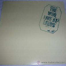 Discos de vinilo: THE WHO ‎– LIVE AT LEEDS - LP EDICION JAPONESA. Lote 53669324