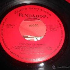 Discos de vinilo: CONJUNTOS MUSICA LIGERA MARJOLAINE/JAMAS TE OLVIDARE/TELSTAR/MEMPHIS EP 1965 FUNDADOR. Lote 53670136