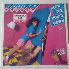 Discos de vinilo: JUNIOR WALKER - BLOW THE HOUSE DOWN - 1983. Lote 53673429