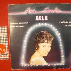 Discos de vinilo: GELU- ASI CANTA GELU. LP 1981.. Lote 53679207