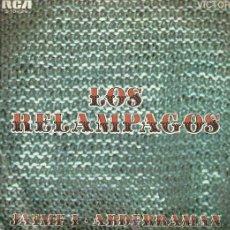 Discos de vinilo: LOS RELAMPAGOS SINGLE SELLO RCA VICTOR EDITADO EN ESPAÑA AÑO 1969. Lote 53683454