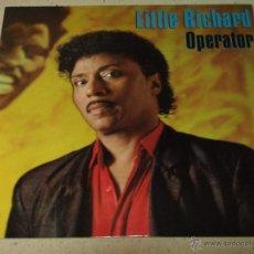 Discos de vinilo: LITTLE RICHARD ( OPERATOR(EXTENDED MIX) - BIG HOUSE REUNION ) 1986 - ENGLAND MAXI45 WEA RECORDS. Lote 53683829