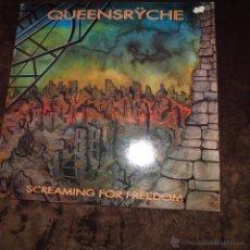Discos de vinilo: QUEENSRYCHE - SCREAMING FOR FREDOM. Lote 53687231