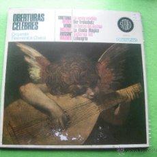 Discos de vinilo: LP.OBERTURAS CELEBRES-ORQUESTA FILAMONICA CHECA. LA NOVIA VENDIDA PEPETO. Lote 53687967