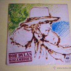 Discos de vinilo: SINGLE BOB DYLAN (MOZAMBIQUE / OH, HERMANA) CBS-1976. Lote 53691994