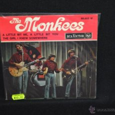 Discos de vinilo: THE MONKEES - A LITTLE BIT ME, A LITLE BIT YOU +3 - EP EDICION FRANCESA. Lote 53695409