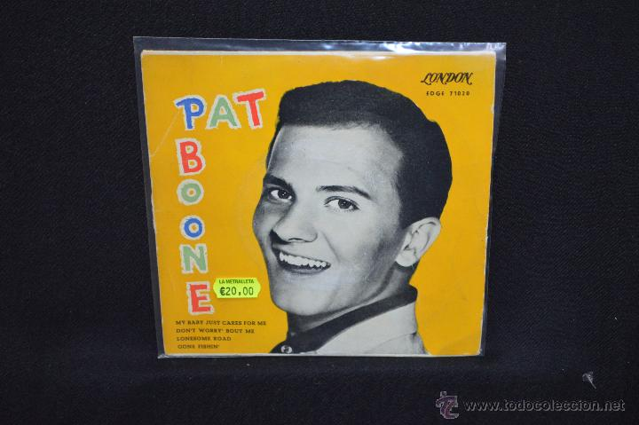 PAT BOONE - MY BABY JUST CARES FOR ME +3 - EP (Música - Discos de Vinilo - EPs - Rock & Roll)