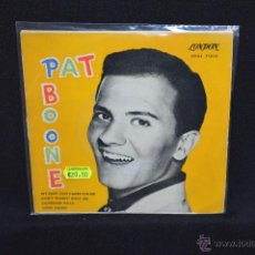 Discos de vinilo: PAT BOONE - MY BABY JUST CARES FOR ME +3 - EP. Lote 53696190