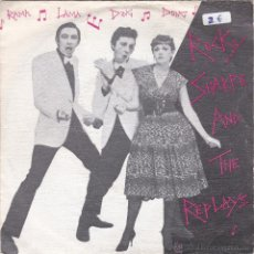 Discos de vinilo: ROCKY SHARPE & THE REPLAYS,RAMA LAMA DING DONG DEL 79. Lote 53696856