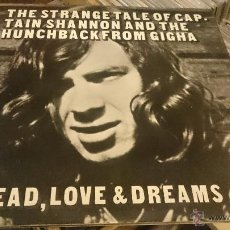 Discos de vinilo: BREAD , LOVE & DREAMS 2LP THE STRANGE TALE OF CAPTAIN SHANNON AND THE ... DISCO DE VINILO DECCA 1971. Lote 53696937
