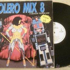 Discos de vinilo: LP BOLERO MIX 8 - (VARIOS) - LP BLANCO Y NEGRO 1991 - . Lote 53699976