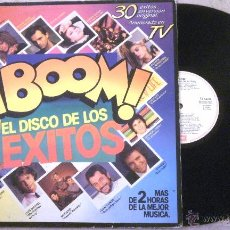 Discos de vinilo: LP BOOM - (VARIOS) - LP X 2 EMI 1985 -. Lote 182905881